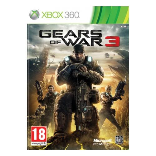 Диск для Xbox 360 Gears of War 3