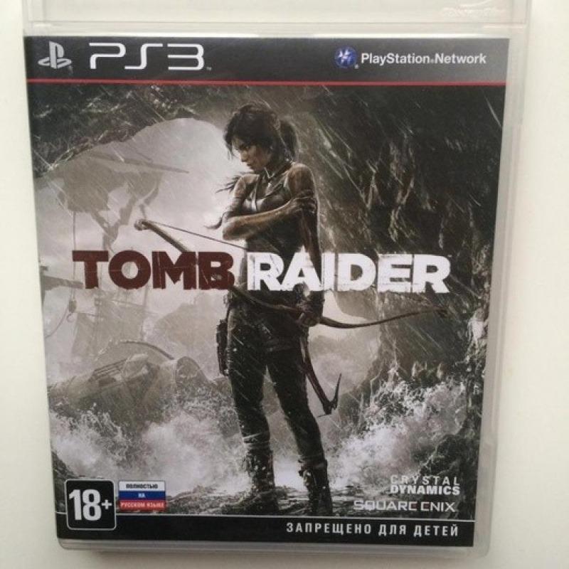 Диск для PS3 Tomb Raider