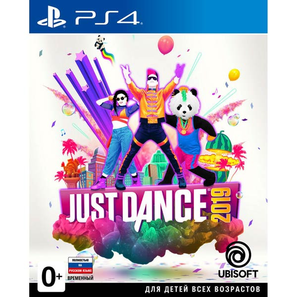Диск PS4 Just Dance 2019
