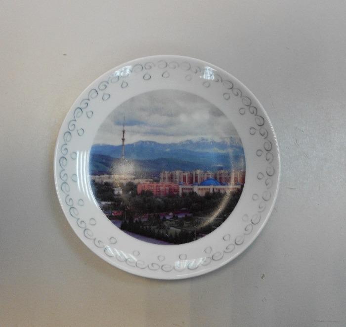 Тарелка сувенирная Город