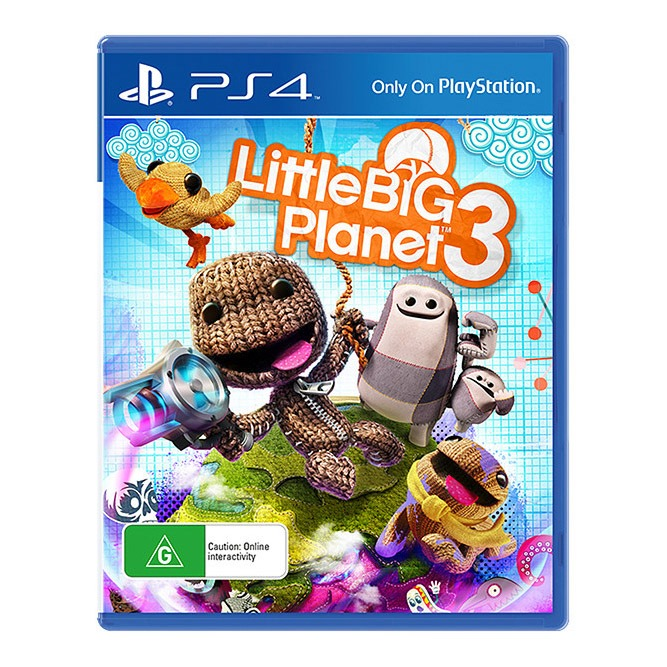 Диск PS4 Little Big Planet 3