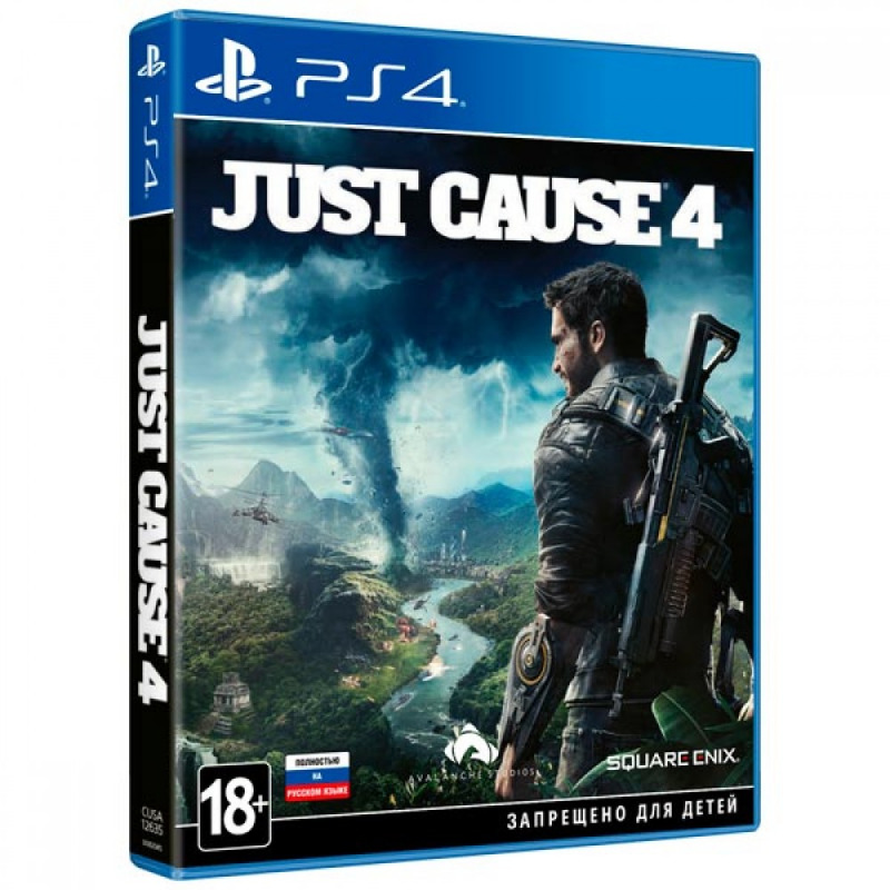 Диск для PS4 Just Cause