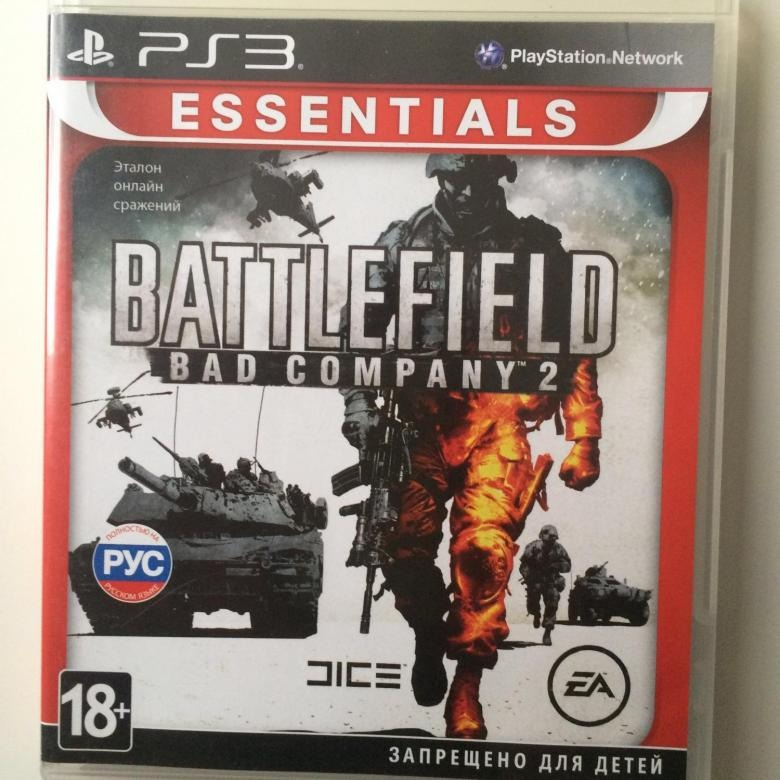 Диск для Sony PS3 BATTLEFIELD BAD COMPANY 2