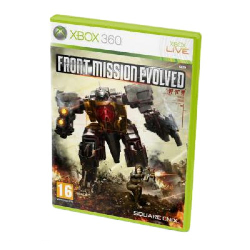 Диск для Xbox 360 Front Mission Evolved