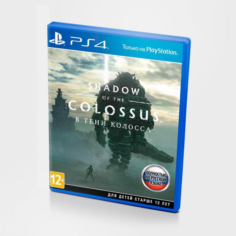 Диск для PS4 Shadow of the Colossus