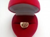 Кольцо  Золото 585 (14K) вес 4.66 г
