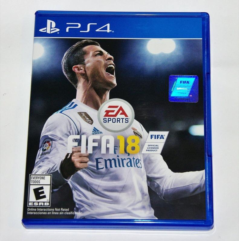 Диск для PS4 FIFA 18