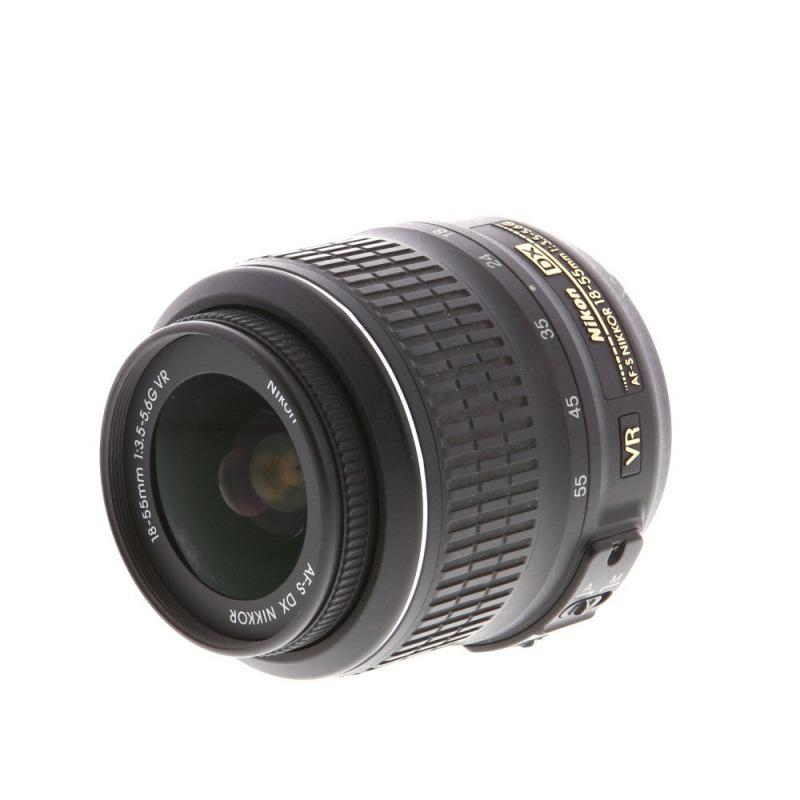 Объектив Nikon 18-55mm F/3.5-5.6G