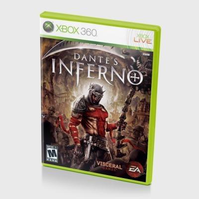 Диск XBOX 360 Dantes Inferno