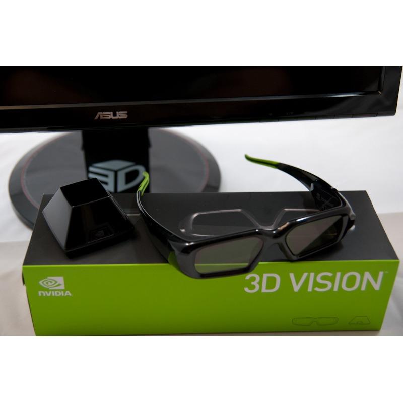 Очки 3Д Nvidia