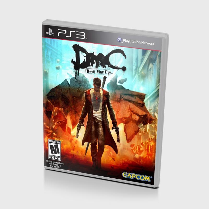 Диск для Sony PS3 DmC Devil May Cry