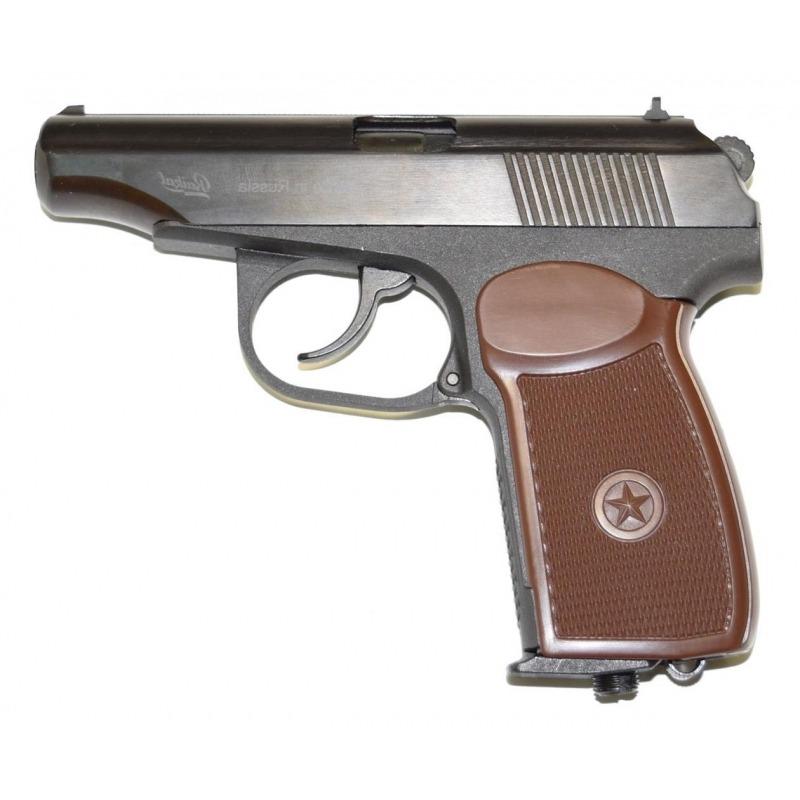 Пневматический пистолет МР-654К Baikal