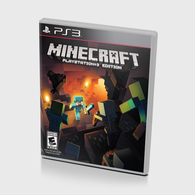 Диск для PS3 Minecraft