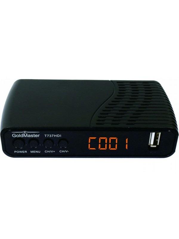 Цифровая Тв-приставка GoldMaster T737HDI