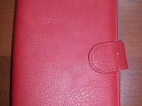 Чехол на планшет красный