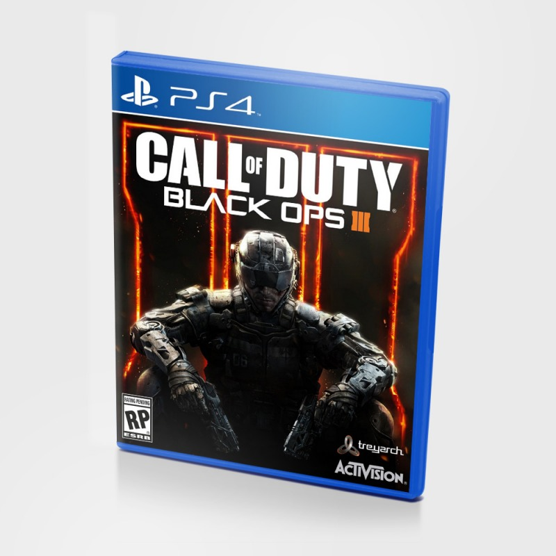 Диск PS4 Call of Duty Black Ops 3
