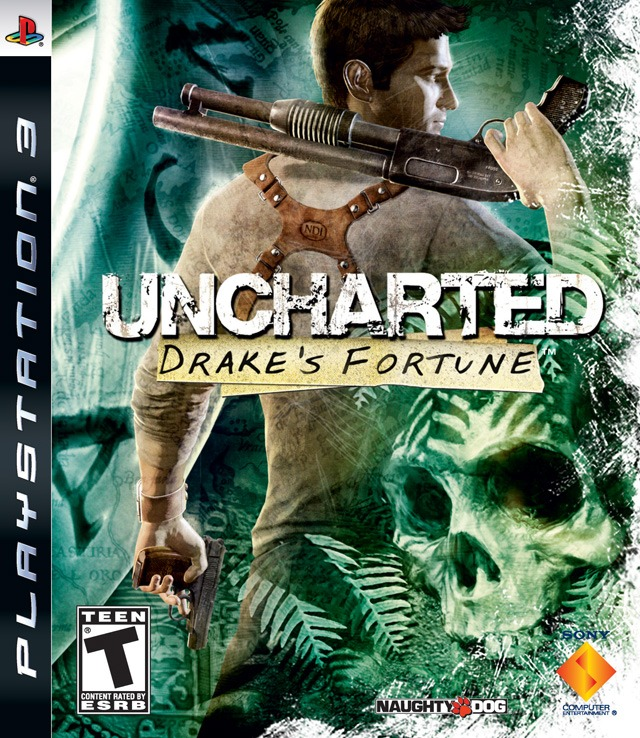 Диск PS3 Uncharted: Drake's Fortune