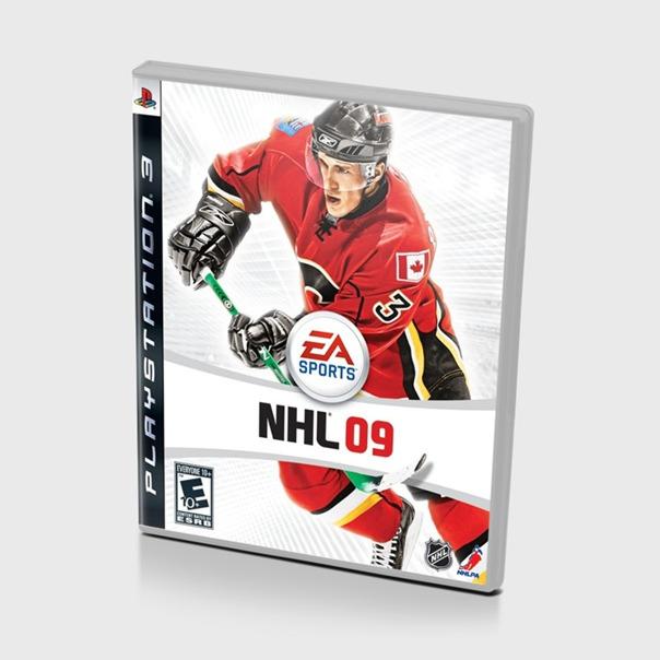 Диск для PS3 NHL 09
