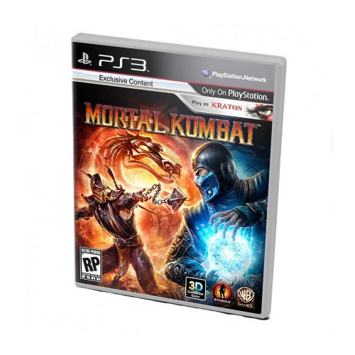 Диск для PS 3 Mortal Kombat