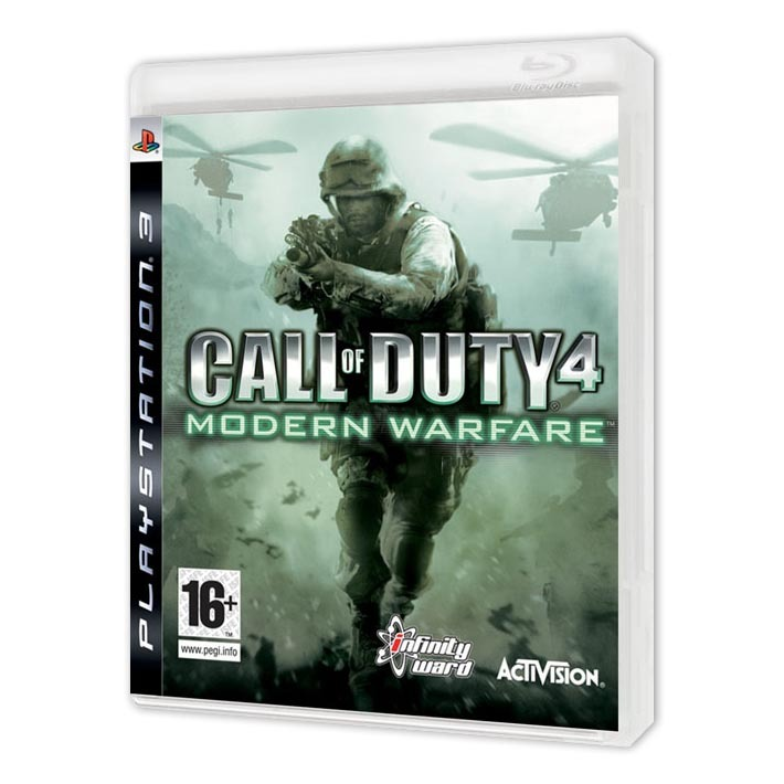Диск на PS3 Call of Duty 4