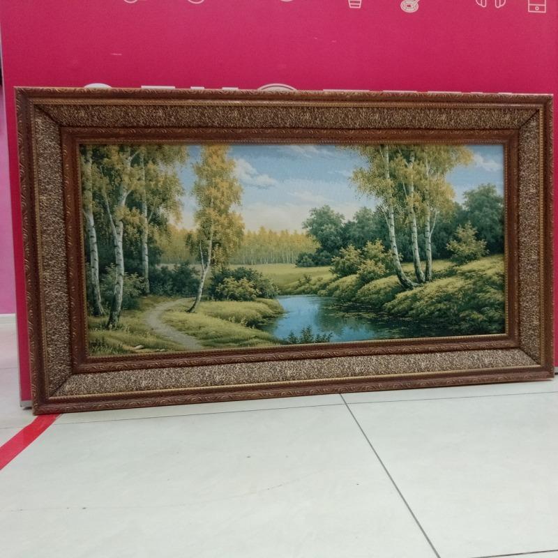 Картина гобелен «Лето в лесу»