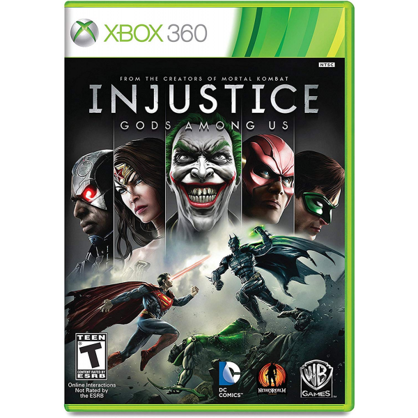 Диск для xBox 360 Injustice Goods Among US