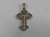 Крест Серебро 925 вес 3.57 г