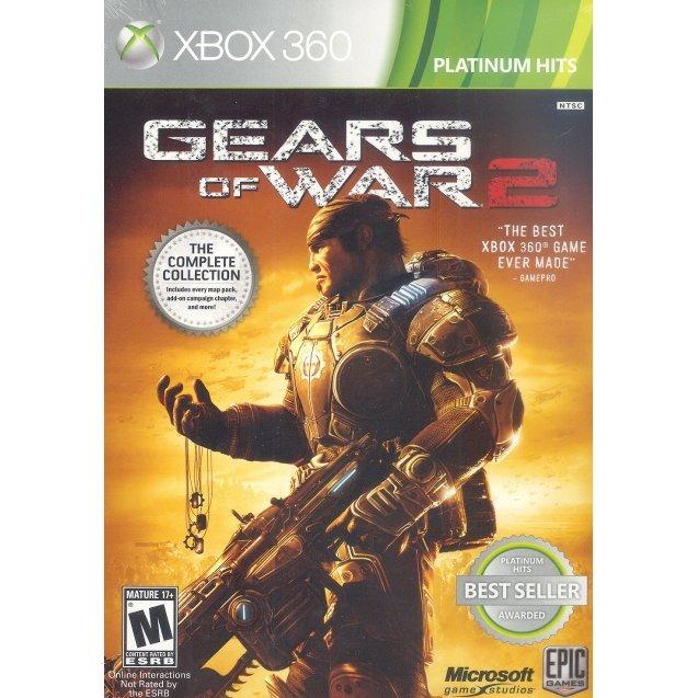 Диск на XBOX 360 Gears of War 2