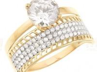 Кольцо 10343 Золото 585 (14K) вес 3.22 г