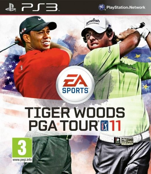 Диск PS3 Tiger Woods PGA Tour 11