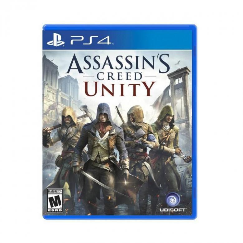 Диск для PS4 Assassins Creed Единство