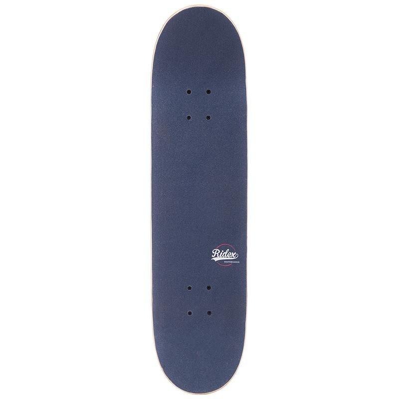 Скейтборд Ridex 31`X7.75`, ABEC-3, Blockhead