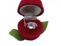 Кольцо с камнями  Золото 585 (14K) вес 3.80 г