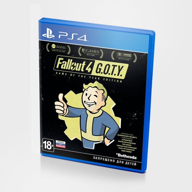 Диск на PS4 Fallout 4