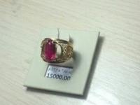 Кольцо с камнем Золото 585 (14K) вес 7.66 г