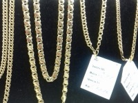 Цепь золотая Золото 585 (14K) вес 10.27 г
