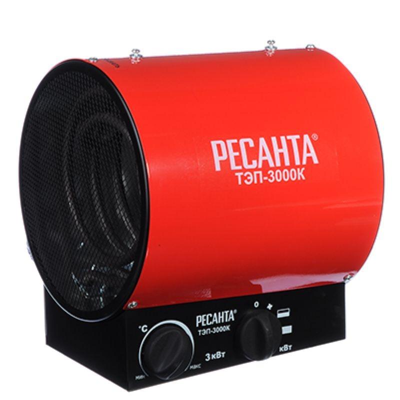 Электрическая тепловая пушка РЕСАНТА ТЭП-3000К (3 кВт)
