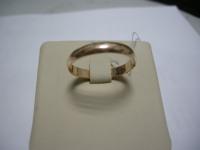 Обручальное кольцо Золото 585 (14K) вес 2.16 г