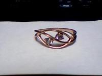 Кольцо с камнями Золото 585 (14K) вес 1.36 г