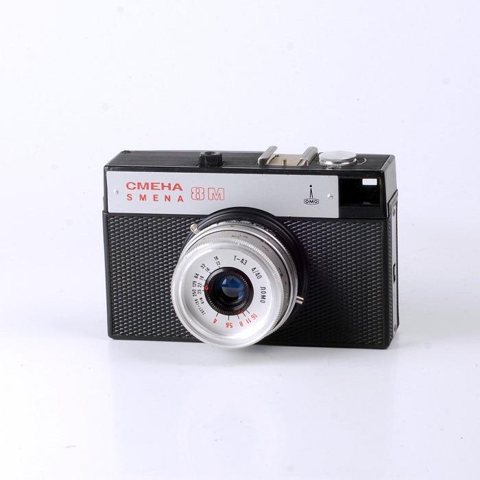 Старый фотоаппарат Смена 8М