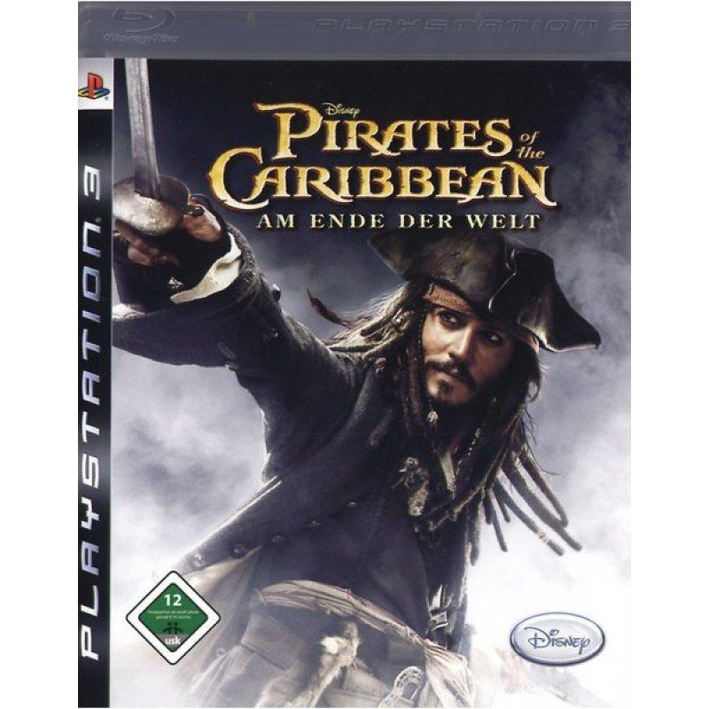 Диск на PS3 пираты карибского моря