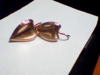 Пара серег Золото 585 (14K) вес 1.67 г
