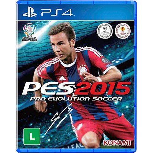 Диск для PS4 PES 2015