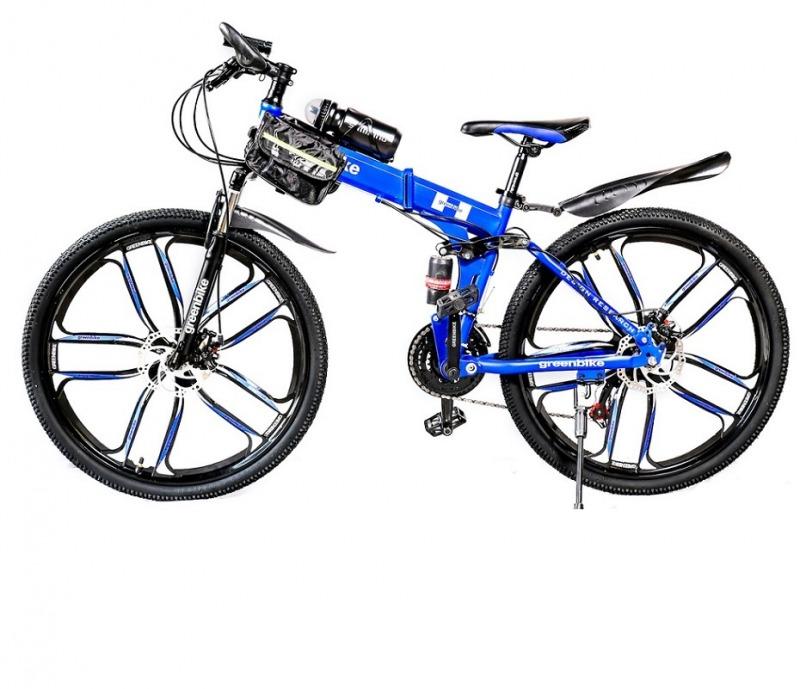 Велосипед Green bike со складной рамой