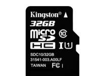 32Gb Kingston карта micro SD (без адаптера) Class10