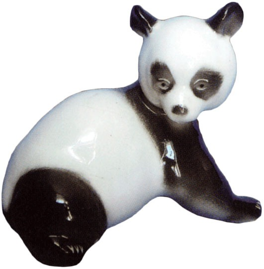 Фарфоровая статуэтка «Панда»