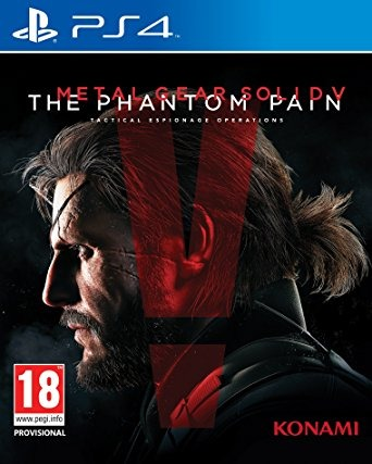 Диск PS4 Metal Gear Solid V