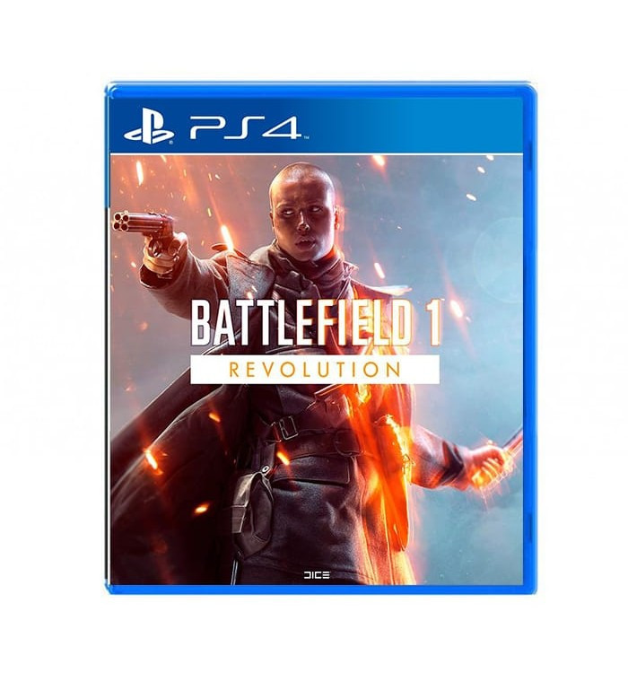 Диск для PS4 Battlefield 1 Revolution