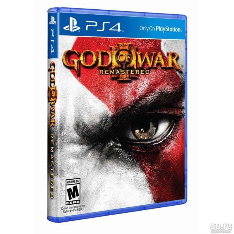 Диск PS-4 GOD OF WAR