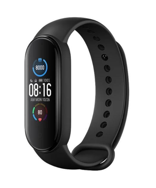 Часы  Xiaomi Mi Smart Band 5 черный